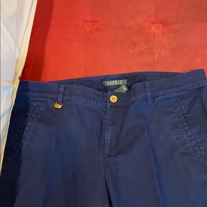 Ralph Lauren size 12 navy blue pants